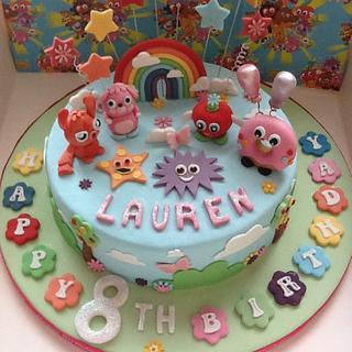 Moshi monsters cake.  - Cake by Berns cakes