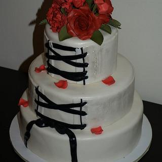 Corset cake - Cake by kira