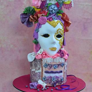 Venetian mask...