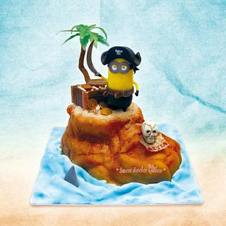 Pirate Minion - Cake by Sweet Rocket Queen (Simona Stabile)