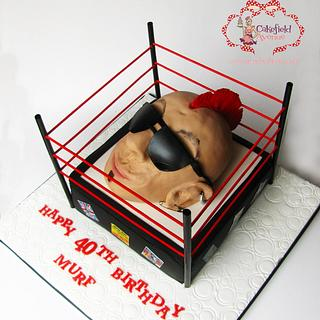 PUNK HEAD CAKE - Cake by Agatha Rogowska ( Cakefield Avenue)
