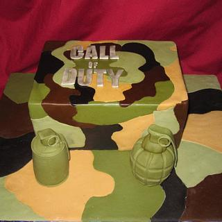 Call of Duty - Cake by Cakes and Cupcakes by Monika