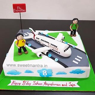 Marvelous Twin Boys Birthday Cake 6 Cakes Cakesdecor Funny Birthday Cards Online Elaedamsfinfo