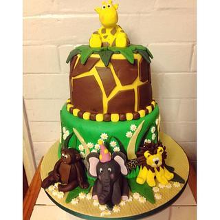 Wildlife Cake