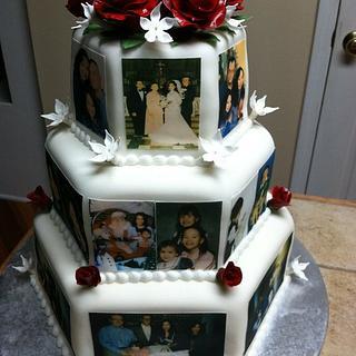 Anniversary cake - Cake by Tetyana