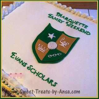 Chick Evans Scholar cake