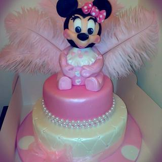 The Minnie Mouse cake