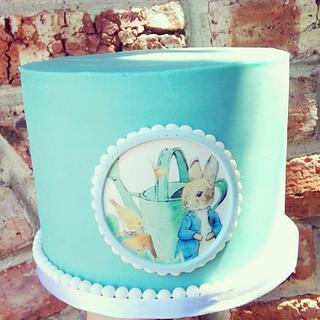 Peter Rabbit - Cake by Rebecca