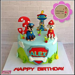 paw patrol cake - Cake by NS Sweet