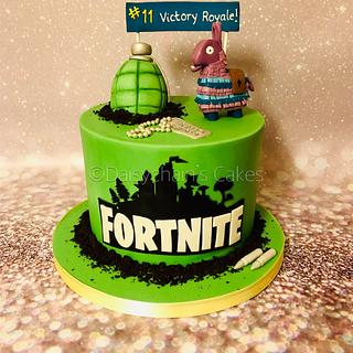 Fortnite Cake - Cake by Daisychain's Cakes