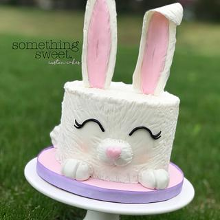 Bunny Cottontail  - Cake by Something Sweet