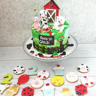 Farm cakes for little Enes
