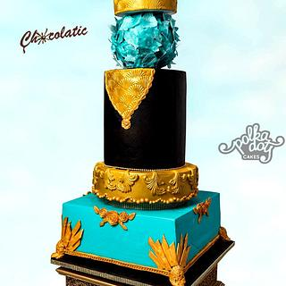 Modern Wedding Cake....