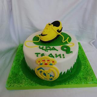 Mancshester - Cake by Bibi