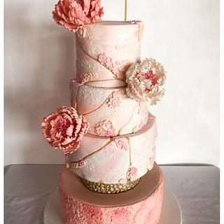 Wedding cake  - Cake by Homebaker