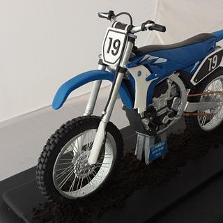 Yamaha motor cross bike