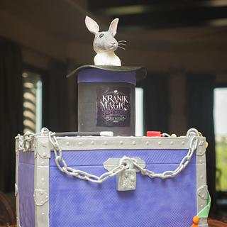 Huge Magic Themed Cake - Cake by Cakes ROCK!!!