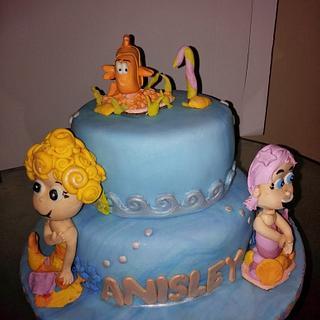 Bubba Guppy cake - Cake by BakeNCraft.com