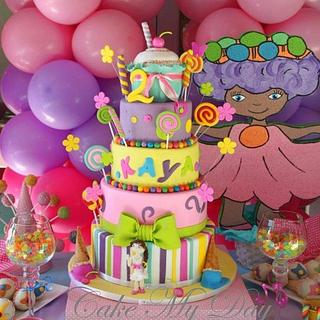 Colorful candy party