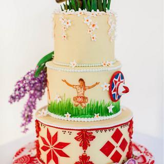 Tina Scott Parashar's Incredible India Cake Collaboration