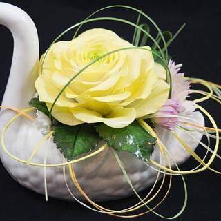 The flower Swan