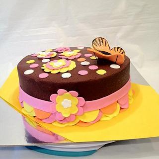 Butterfly - Cake by Dawn Henderson