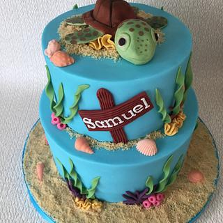 Samuel's Turtle cake