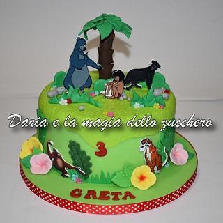 The jungle book cake - Cake by Daria Albanese