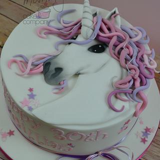Magical Unicorn themed cake - Cake by AMAE - The Cake Boutique