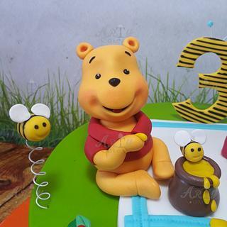 Winnie the pooh figurine  - Cake by Arty cakes
