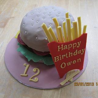 Cheeseburger & fries anyone?