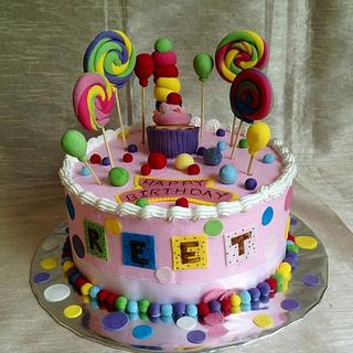 Candy Land - Cake by Expressions