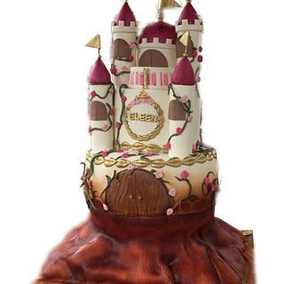 Eleen Castle - Cake by Naya Cake