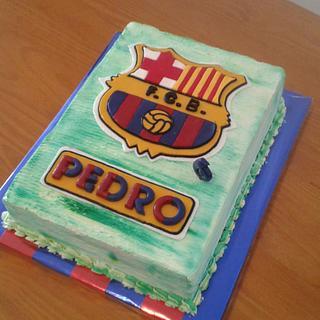 CAKE SHIELD F.C. BARCELONA