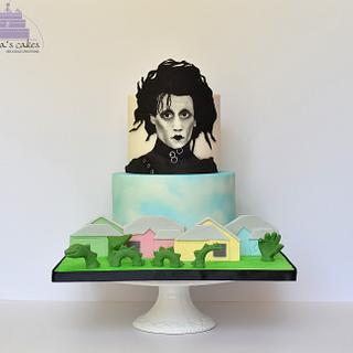 Edward Scissorhands - Cakeflix Collab