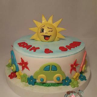Sun cake - Cake by Zerina