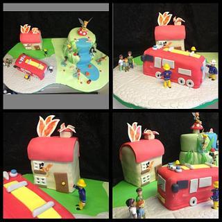 Fireman Sam joint cake