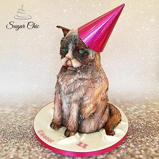x Grumpy Cat x - Cake by Sugar Chic