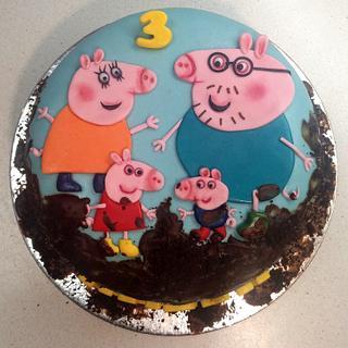 Peppa pig - Cake by Majka Maruška