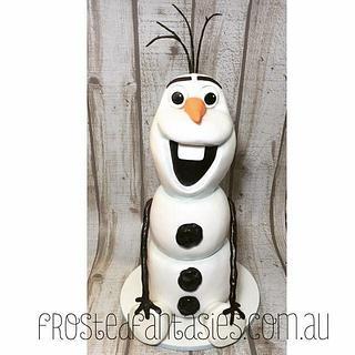 Olaf - Cake by Rachel