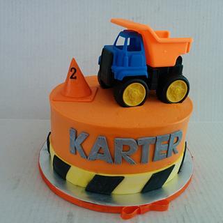 dump truck birthday