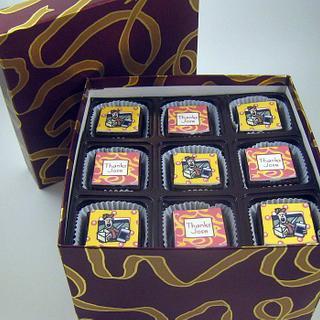 Brownie Bites Gift Box - Cake by Cheryl