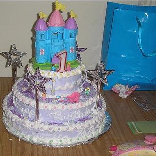 quick castle cake
