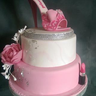 Sugar Shoe Cake