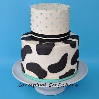 Milk themed Baby Shower
