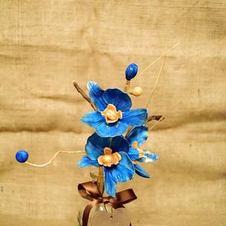 royal blue - Cake by ana ioan