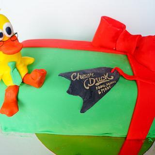 cake for restaurant cheer duck