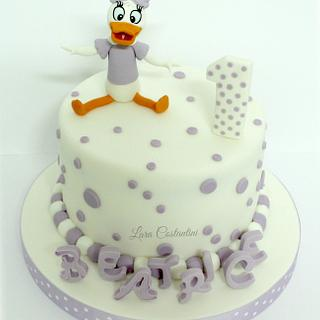Sensational Daisy Duck Cake 11 Cakes Cakesdecor Personalised Birthday Cards Paralily Jamesorg