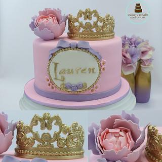 Princess Birthday - Cake by Anshalica Miles -Destiny's Delights Custom Cakes