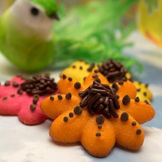 Cookie Press Flowers